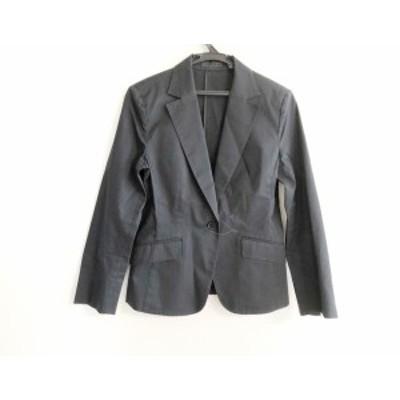 アイシービー ICB ジャケット サイズ11 M レディース 黒 肩パッド【還元祭対象】【中古】