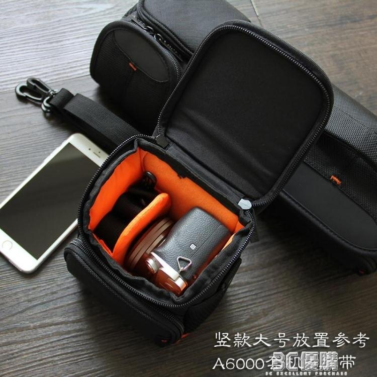 索尼微單a6000相機包單肩ILCE-a6300/6400 a6600 a6100攝影包a7m3