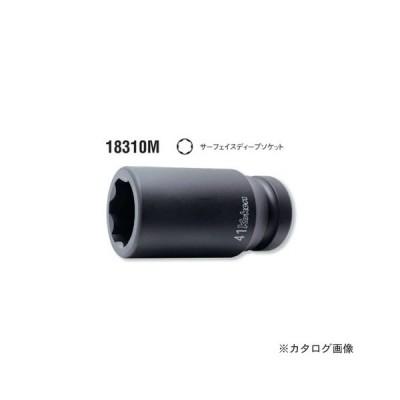 """コーケン ko-ken 1""""(25.4mm) 18310M-27mm インパクトサーフェイスディープソケット 全長108mm"""
