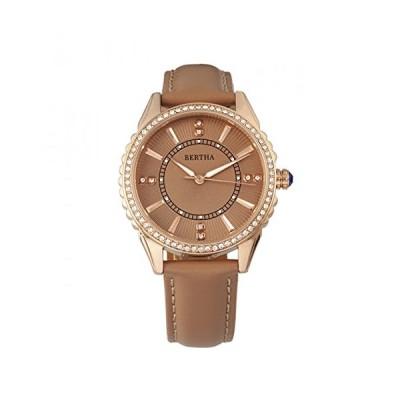 Bertha Clara Leather-Band Watch 並行輸入品