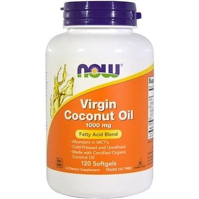 Virgin Coconut Oil, 1,000 mg, 120 Softgels