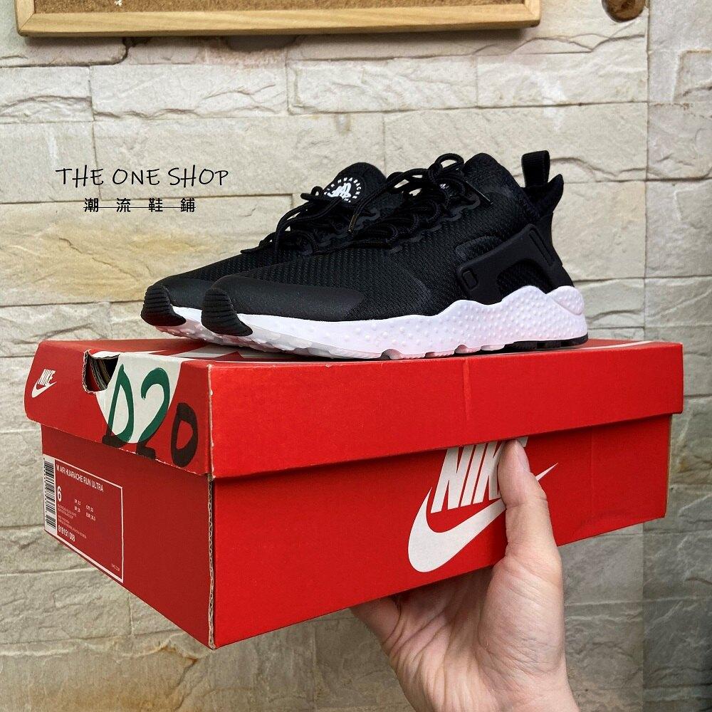 NIKE AIR HUARACHE RUN ULTRA 武士 武士鞋 黑武士 黑色 黑白 慢跑鞋 819151-008