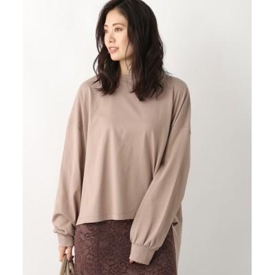 Andemiu / コットンオーバーサイズロンT922511 WOMEN トップス > Tシャツ/カットソー