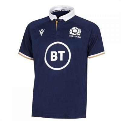 マクロン Macron メンズ トップス Scotland Home Rugby Shirt 2020 2021 Navy