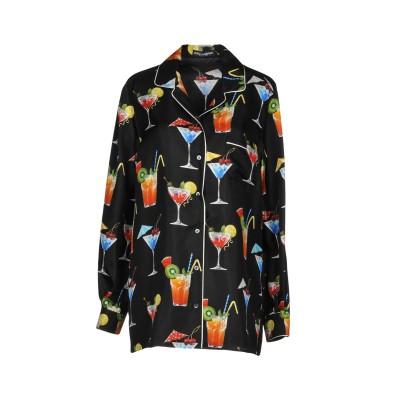ドルチェ & ガッバーナ DOLCE & GABBANA シャツ ブラック 42 シルク 100% シャツ