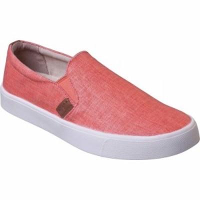 レヴィタライン Revitalign レディース スニーカー シューズ・靴 Boardwalk Canvas Sneaker Red