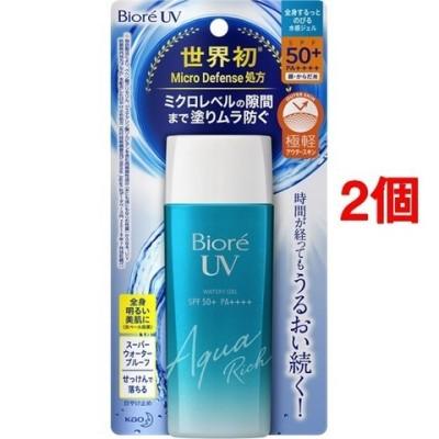 ビオレ UV アクアリッチ ウォータリージェル (90ml*2個セット)