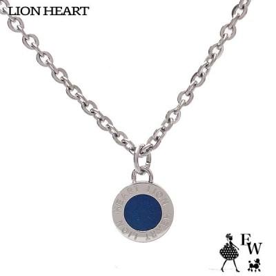 ライオンハート ネックレス LION HEART ライオンコイントップ ペンダント ネックレス 04N126SMBL エクセルワールド メンズ プレゼント アクセサリー