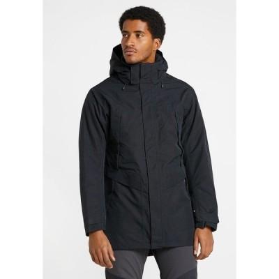 ファウデ ジャケット&ブルゾン メンズ アウター MEN'S IDRIS - Outdoor jacket - black