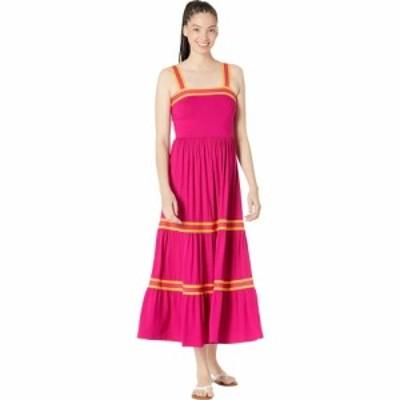 テッドベーカー Ted Baker レディース ワンピース Aライン ワンピース・ドレス Norabel Tiered Jersey Vest Dress Bright Pink