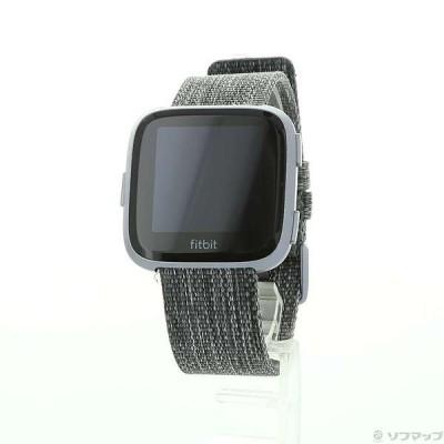 〔中古〕FITBIT  Fitbit Versa スペシャル エディション FB505BKGY-CJK