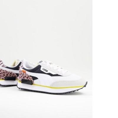 プーマ レディース スニーカー シューズ Puma Future Rider sneakers in white White