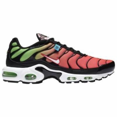(取寄)ナイキ メンズ シューズ エアマックス プラス Nike Men's Shoes Air Max Plus Black White Green Strike Flash Crimson 送料無料