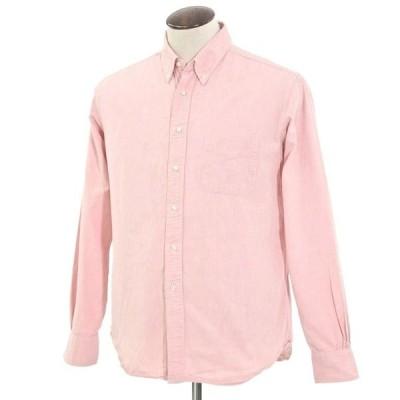 シップス SHIPS オックスフォード ボタンダウンシャツ ピンク XL