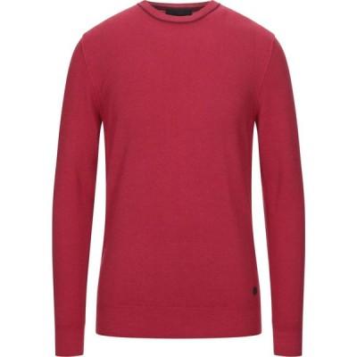 トラサルディ TRU TRUSSARDI メンズ ニット・セーター トップス sweater Red