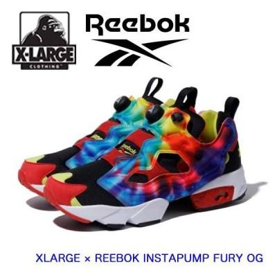 XLARGE エクストララージ リーボック スニーカー 【XLARGE × REEBOK INSTAPUMP FURY OG】 靴 シューズ  正規品 101204052001