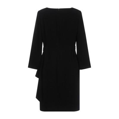 BOUTIQUE MOSCHINO ミニワンピース&ドレス ブラック 40 70% トリアセテート 30% ポリエステル ミニワンピース&ドレス