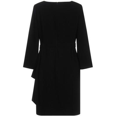 BOUTIQUE MOSCHINO ミニワンピース&ドレス ブラック 38 70% トリアセテート 30% ポリエステル ミニワンピース&ドレス