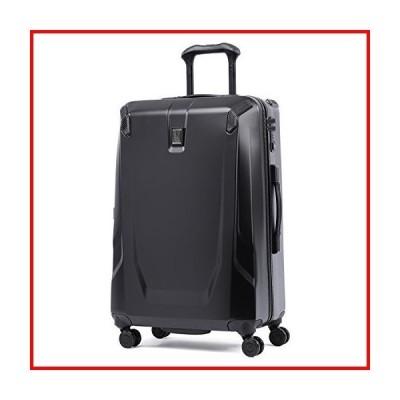 Travelpro Crew 11 25インチ ハードサイド スピナー スーツケース, 黒曜石 ブラック, One Size