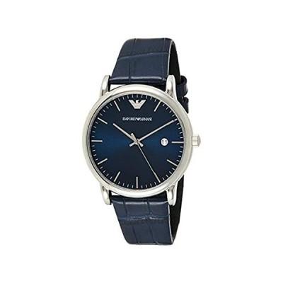 Emporio Armani Men's AR2501 Dress Blue Leather Quartz Watch