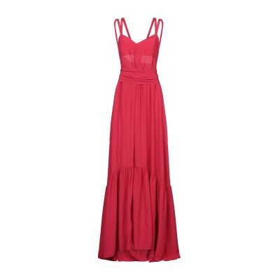 マニラ グレース MANILA GRACE ロングワンピース&ドレス ガーネット 38 アセテート 65% / シルク 35% ロングワンピース&ド