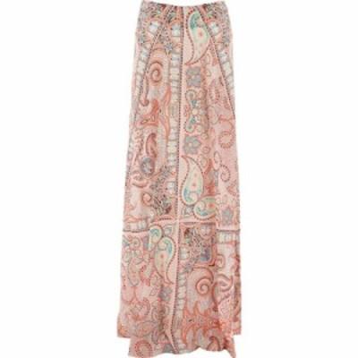 エトロ Etro レディース ロング・マキシ丈スカート スカート Long Skirt With Paisley Print Orange