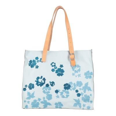 カテリーナルッキ CATERINA LUCCHI ハンドバッグ スカイブルー 革 / 紡績繊維 ハンドバッグ