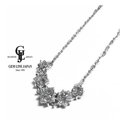 TASAKI 上質ダイヤモンド 1.02ct プリンセスカット プラチナ プチネックレス
