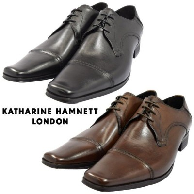 KATHARINE HAMNETT キャサリン ハムネット KH3980 ビジネスシューズ 本革 メンズ 紳士靴 革靴 (nesh) (新品)