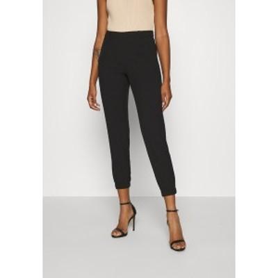 オンリー レディース カジュアルパンツ ボトムス ONLESRA POLLI LIFE PULL UP PANT - Trousers - black black