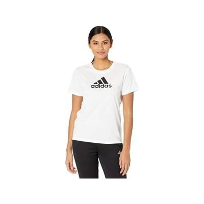 【ポイント最大14倍!!】(取寄)アディダス レディース プライムブルー デザインド 2 ムーブ ロゴ スポーツ ティー adidas Women's Primeblue Designed 2 Move Lo