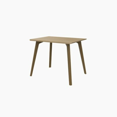 送料無料 ダイニングテーブル (W900 天板:ピーチ 脚:ホワイトオーク) - CROSS