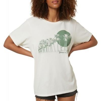 オニール O'Neill レディース Tシャツ トップス O'NEILL Tsunami T-Shirt Naked