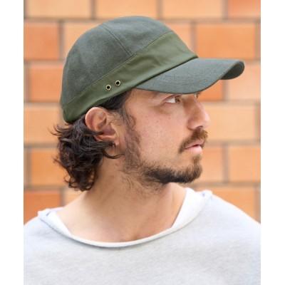 CAMBIO / mko9584-Linen Cotton Cap キャップ MEN 帽子 > キャップ