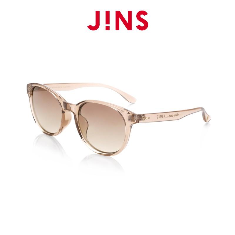 JINS niko and 聯名款輕時尚墨鏡(ALRF20S148)透明灰褐