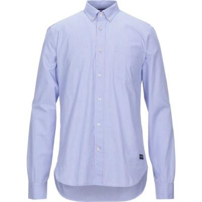 スコッチ&ソーダ SCOTCH & SODA メンズ シャツ トップス striped shirt Blue