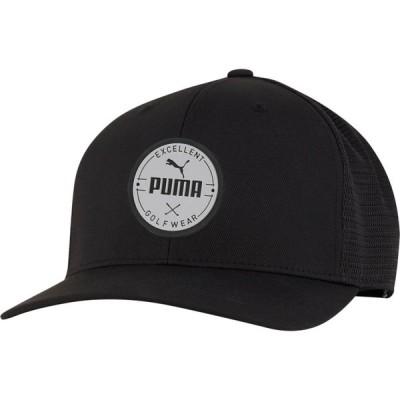 プーマ PUMA メンズ キャップ 帽子 Circle Patch Golf Hat Black