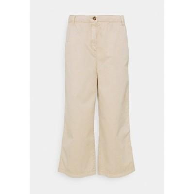 エスプリ カジュアルパンツ レディース ボトムス CULOTTE - Trousers - beige