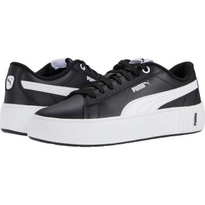 プーマ PUMA レディース スニーカー シューズ・靴 Smash Platform V2 L Puma Black/Puma White