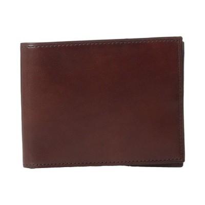 ボスカ 財布 アクセサリー メンズ Old Leather Collection - Executive ID Wallet Dark Brown Leather