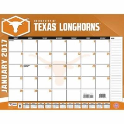 John F. Turner ジョン エフ ターナー スポーツ用品  Texas Longhorns 22 x 17 Desk Calendar