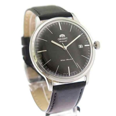 オリエント 腕時計 Orient SAC0000DB0 Automatic Classic クラシック メンズ Black Dial Black Leather Analog Watch