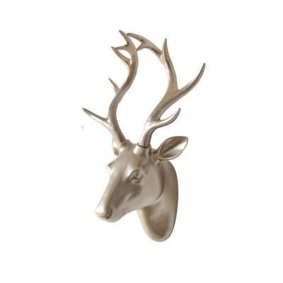 オブジェ 置き物 インテリア おしゃれ 北欧 動物 壁掛け 樹脂 鹿の頭 壁飾り 羊 西洋