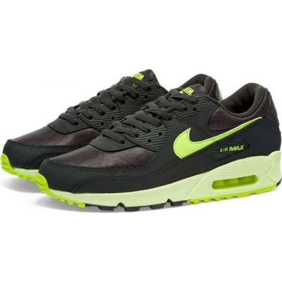 ナイキ Nike レディース スニーカー エアマックス 90 シューズ・靴 air max 90 w Dark Smoke Grey/Barely Volt