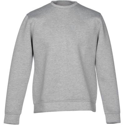 VI.E SIX EDGES スウェットシャツ ライトグレー M コットン 100% スウェットシャツ