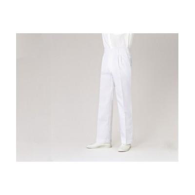 MONTBLANC 7-655 パンツ(半ゴム)(男性用) ナースウェア・白衣・介護ウェア