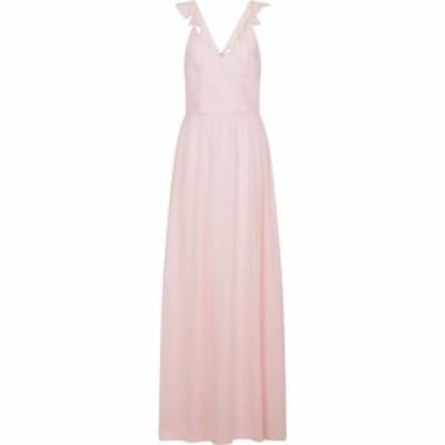 チチ Chi Chi レディース ワンピース マキシ丈 ワンピース・ドレス Ruffle Strap Maxi Dress Pink