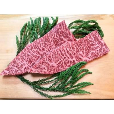 飛騨牛 5等級 イチボステーキ 2枚 飛騨市推奨特産品 古里精肉店謹製[D0070]