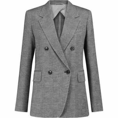 マックスマーラ Max Mara レディース スーツ・ジャケット アウター Leisure Ocarino wool-blend blazer Dis Glasses Nero