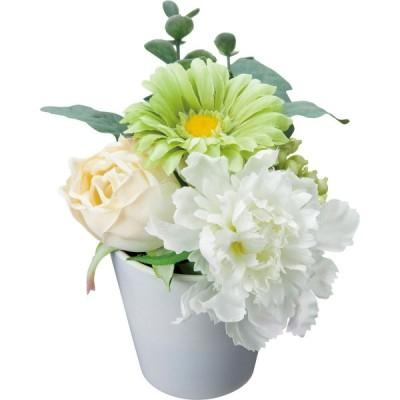 造花 YDM ガーベラポットS グリーン FBC-8147-GR 造花 花材「か行」 ガーベラ